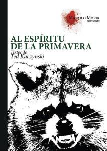 Al Espíritu de la Primavera_Ted Kaczynski_Tapa